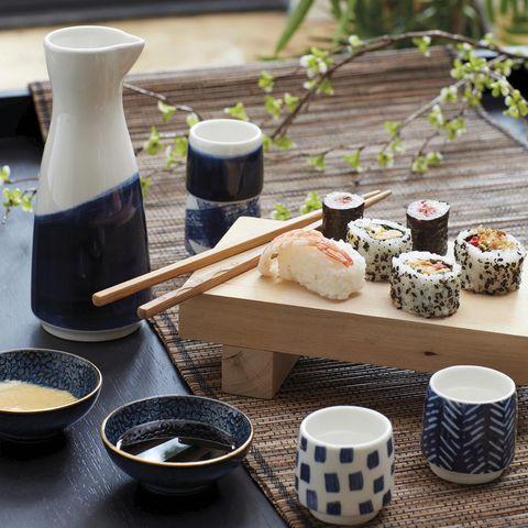 menaje para sushi