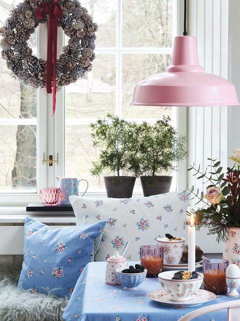 Menaje y cojines Navidad