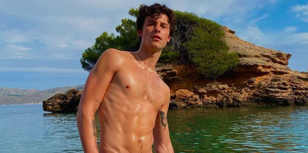 Shawn Mendes Showed Off His Six-Pack Abs in an Island Paradise Thirst Trap - menshealth.com