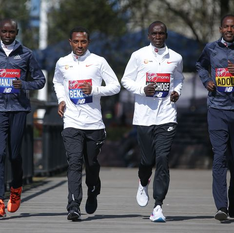 bekele and kipchoge on staying fit in lockdown