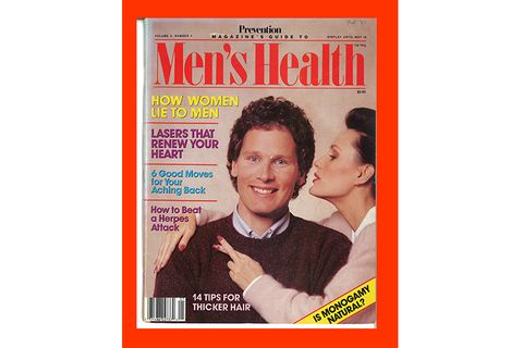 Men's Health 1987 Cover