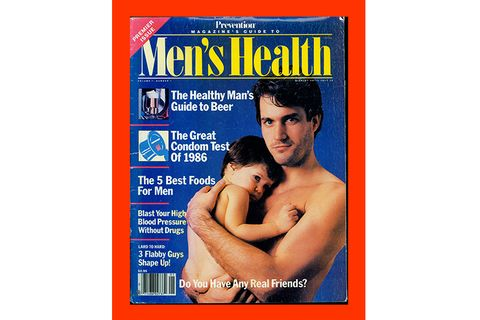 Men's Health 1986 Cover