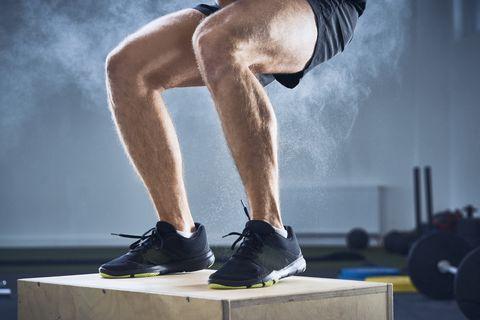 ejercicios excentricos de piernas