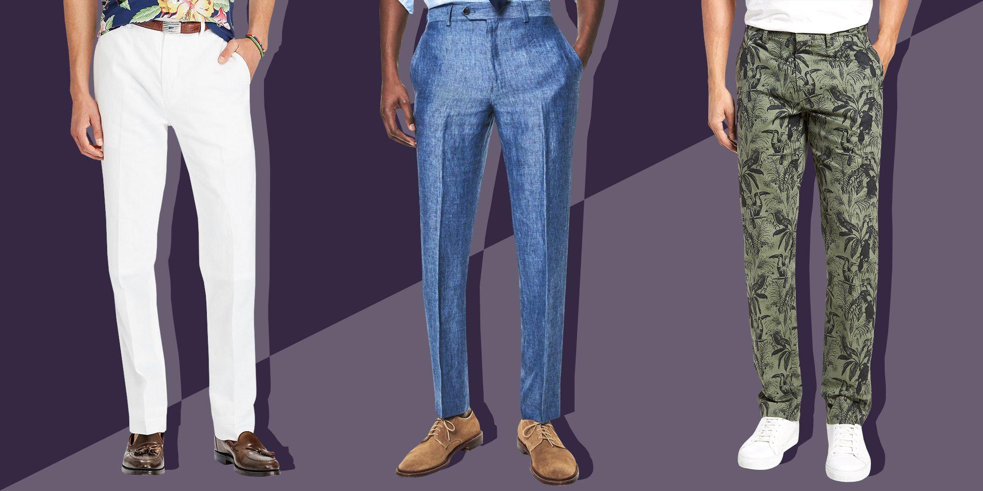 7 Best Mens Linen Pants For 2018 Stylish Linen Trousers For Men