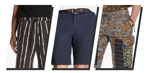 men's printed shorts