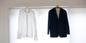 Clothes hanging up - how to dry clothes without a tumble dryer