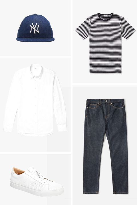 men's summer outfit ideas: Everyday Essentials