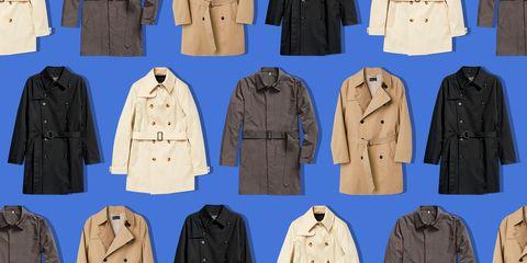 mens trench coats best 2018