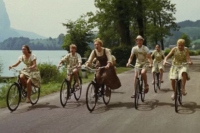 the sound of music bikes