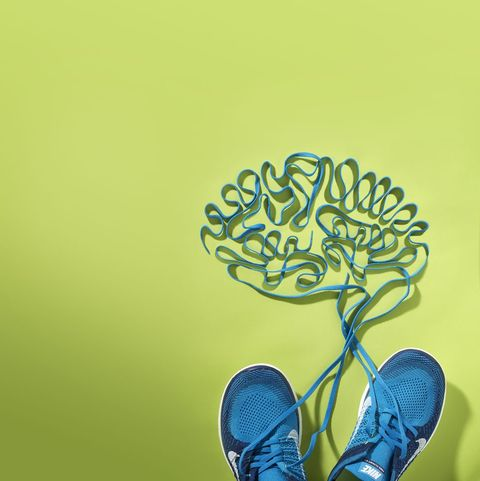 how thought affects running