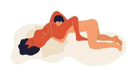 queening pregnancy sex position