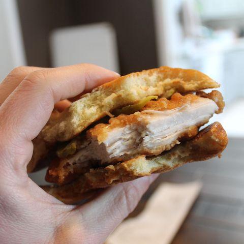men's health mcdonald's spicy chicken sandwich review