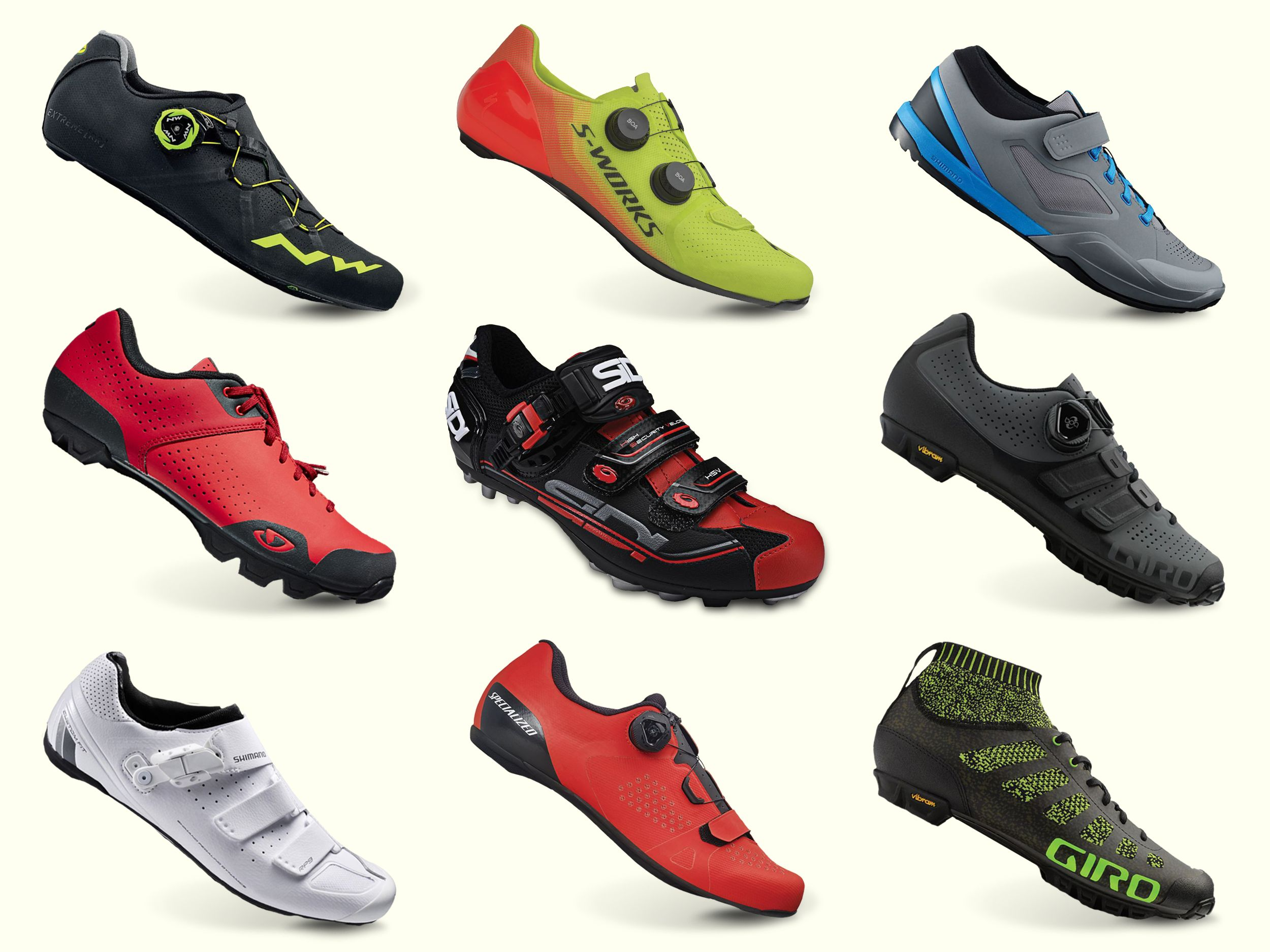 Cycling Shoes for Men - Best Road and Mountain Bike Shoes
