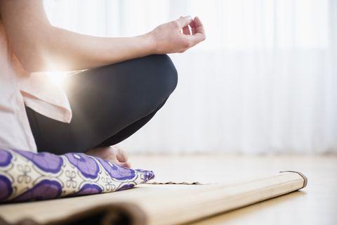deep breathing mental wellbeing anxious during self-isolation coronavirus social distancing
