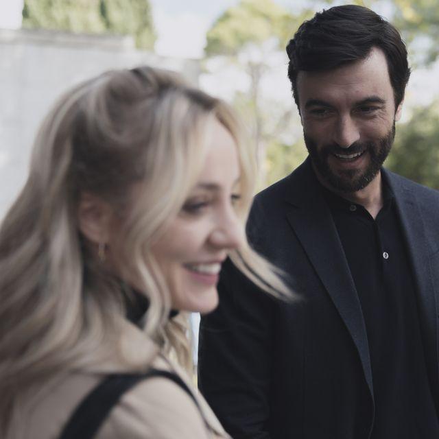 javier rey y Ángela cremonte en la serie 'mentiras' de antena 3