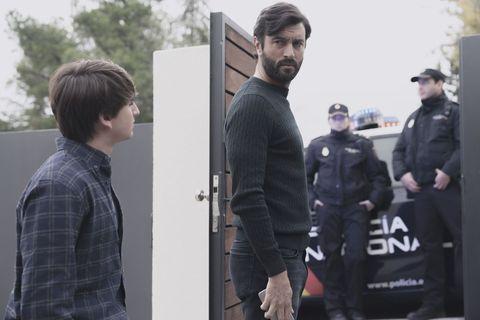 Javier Rey en la serie 'Mentiras' de Antena 3