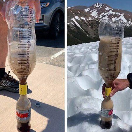 Water, Sculpture, Drink, Bottle, Plastic bottle,