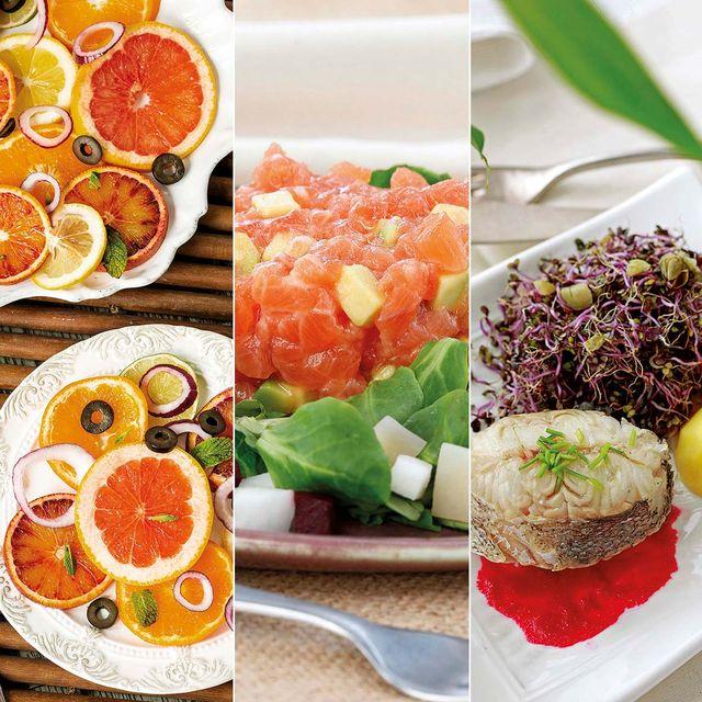 menú saludable bajo en calorías