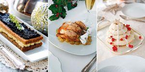 Menú de Navidad internacional