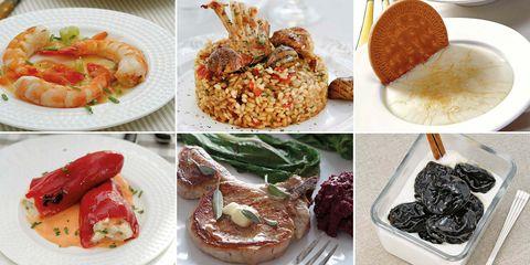 Menú con retas tradicionales: Cocina española