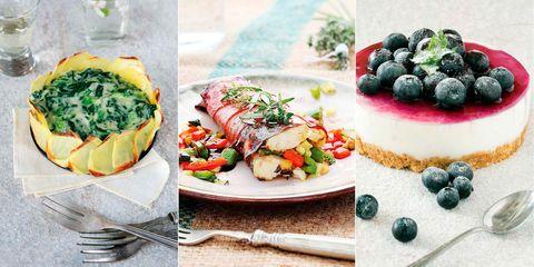 menú healthy recetas saludables