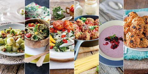 recetas menú saludable
