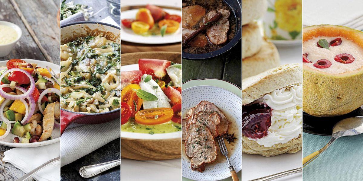 Un menú para el fin de semana que cuida tu línea: 6 recetas sencillas