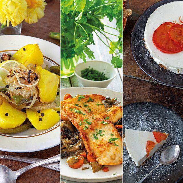 menú saludable y ligero