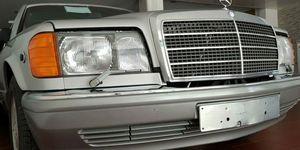 Mercedes 560 SEL de 1986 nuevo a la venta
