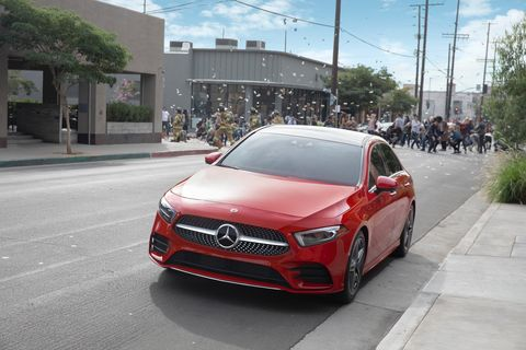 Mercedes-Benz A-class Super Bowl Commercial