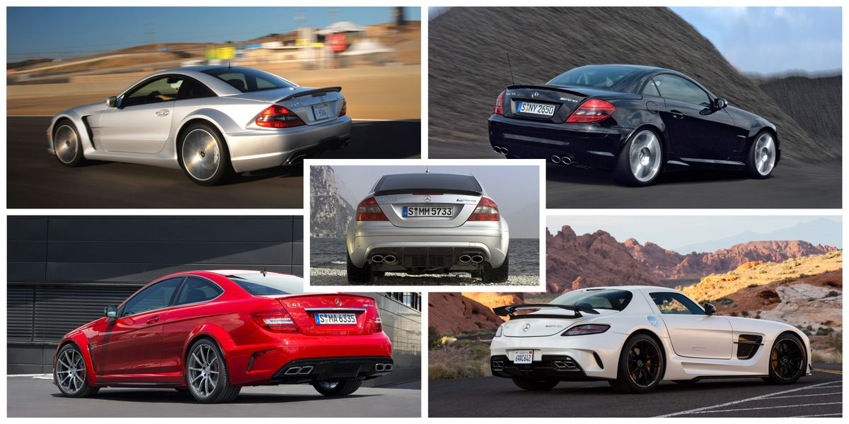 A Look Back at All the Mercedes-AMG Black Series Models
