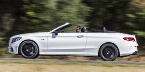 Mercedes-AMG C 43 Cabrio - lateral