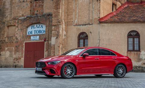 Land vehicle, Vehicle, Car, Automotive design, Mid-size car, Audi, Red, Motor vehicle, Rim, Luxury vehicle,