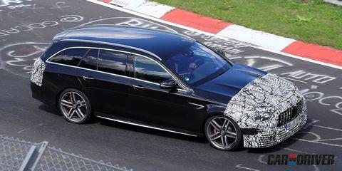 Mercedes-AMG E 63 Estate 2021: puesta a punto en Nürburgring