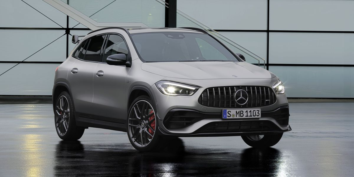 For 2021, Mercedes-AMG GLA45 Gets Added Superpowers