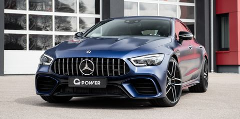 mercedes amg gt 63 s 4 puertas by g power