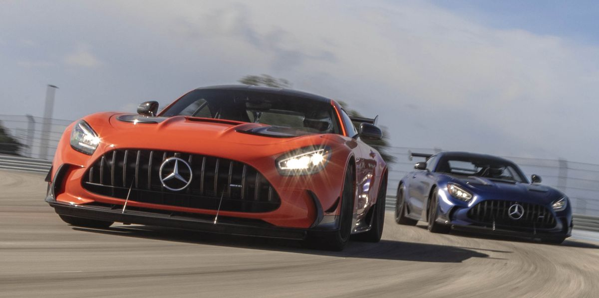 The 2022 Mercedes-AMG GT Black Series Is a Teutonic War Hammer