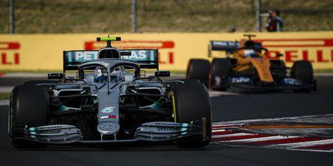 Mercedes AMG Petronas F1 Teams Finnish driver Valtteri...