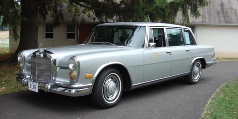 mercedes benz 600 de 1969 de elvis presley a la venta