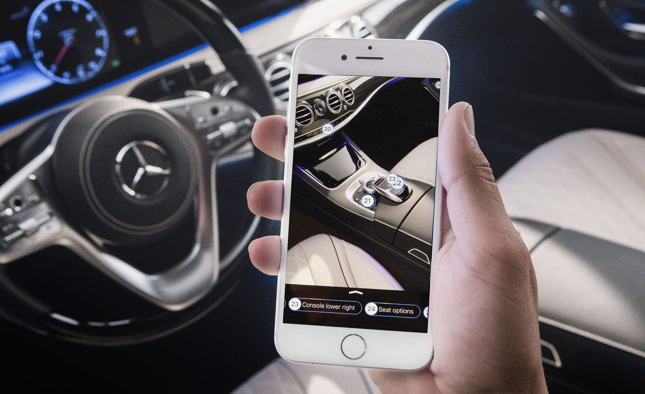 Mercedes-Benz Adds Augmented-Reality Owner's Manual to 2018 S-class | News  | Car and Driver