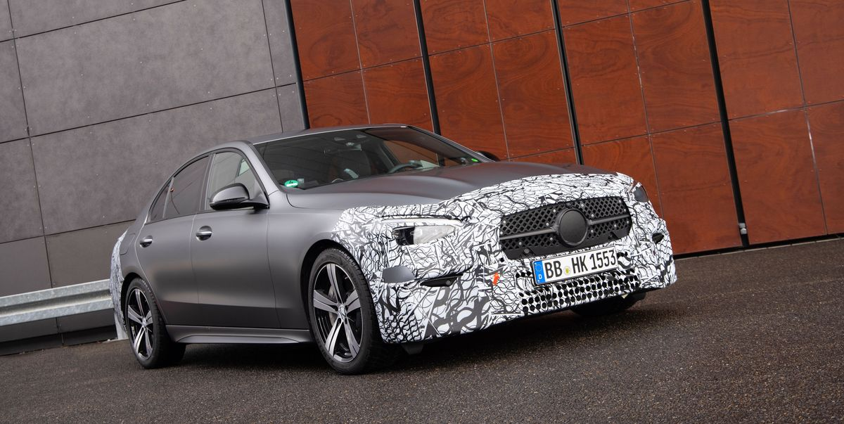 2022 Mercedes-Benz C-Class Going to All-Four-Cylinder Lineup