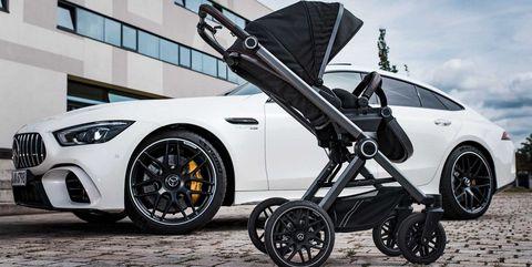 mercedes amg carrito de bebé