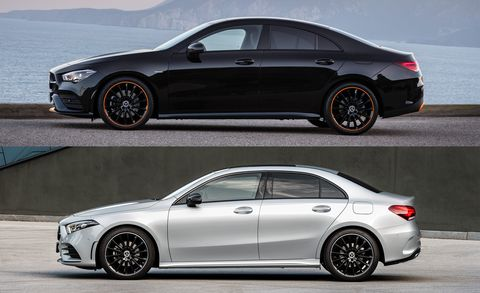 Here S How The New Mercedes Cla Is Different From The A