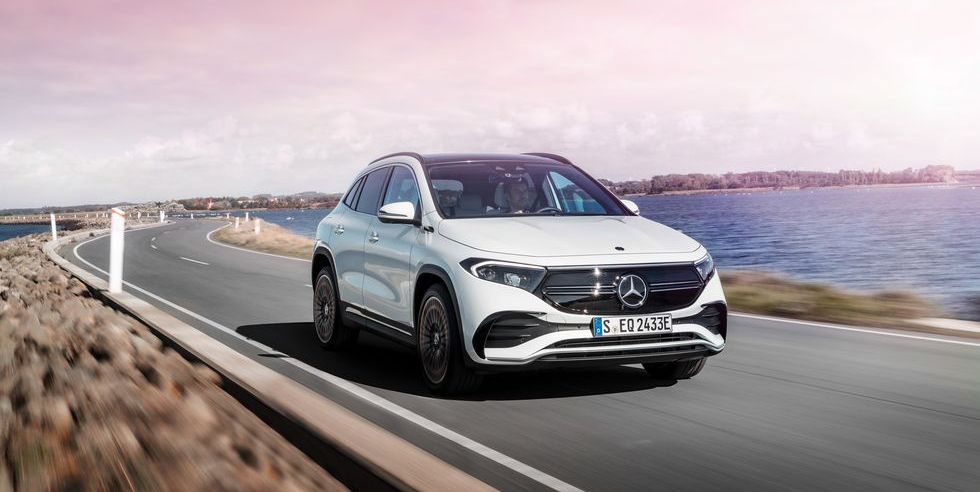 2022 Mercedes EQA Will Be the EV Sibling of the GLA-Class