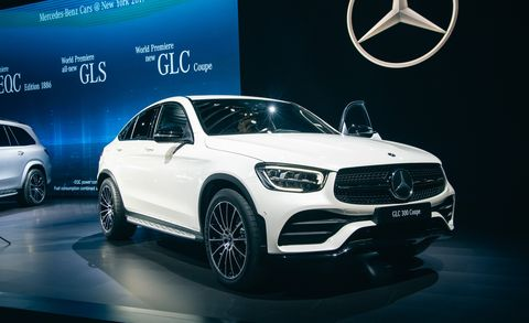 2020 Mercedes-Benz GLC: Update, Changes, More Power, Release >> 2020 Mercedes Benz Glc Coupe Updated Sporty Crossover