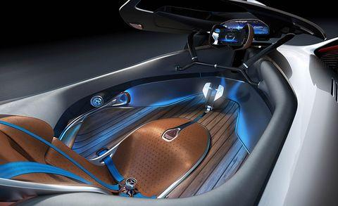 Mercedes Benz Eq Silver Arrow Concept Is A Retro Inspired Futuristic Ev
