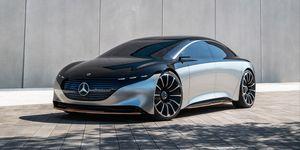 2021 Mercedes-Benz EQS front