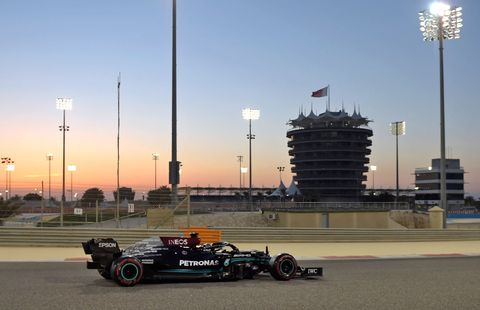 auto prix f1 bahrain test