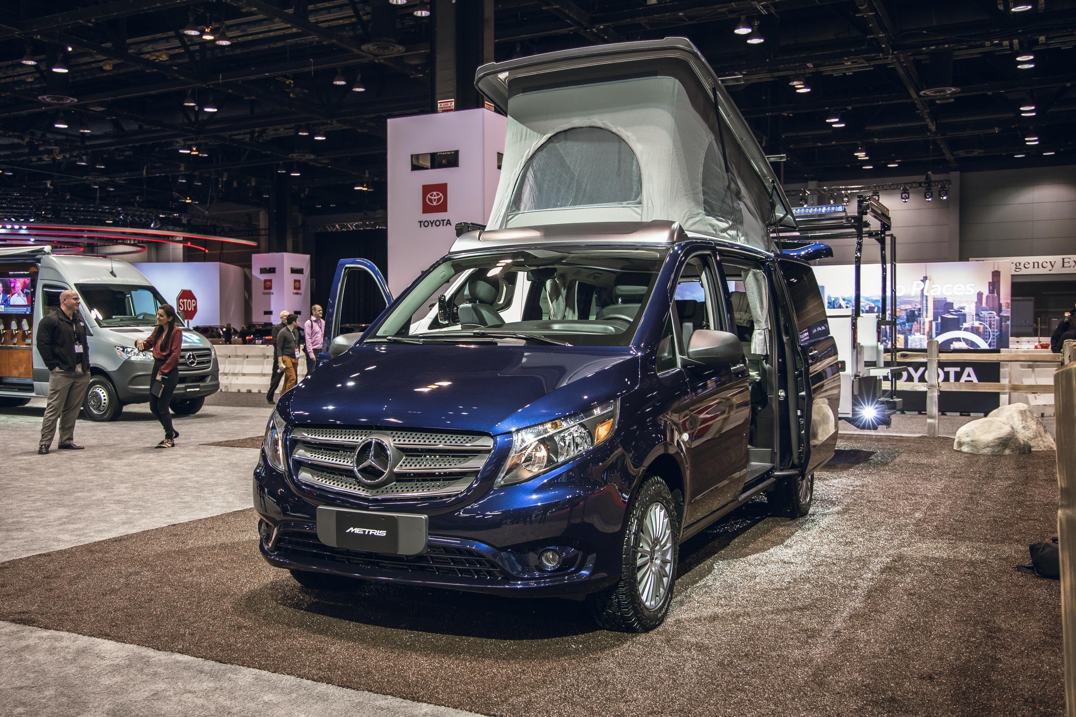 Mercedes Benz Pops Up With A Weekender Camper