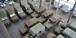 Estos 37 Mercedes Clase G militares salen a la venta